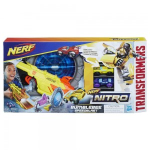 Transformers News: Nerf Nitro Transformers Bumblebee Speedblast Product Reveal