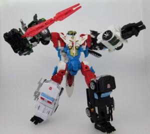 New Image - Takara Transformers Unite Warriors Lynx Master