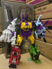 Transformers News: Transformers Fall of Cybertron G2 Bruticus In-Hand Image