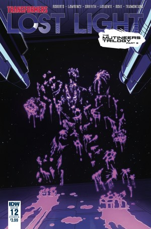 Variant Covers Revealed for  IDW Transformers: Lost Light #12
