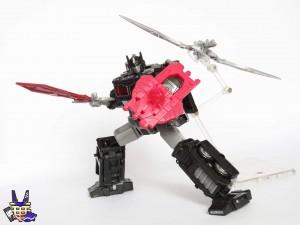 New Images of Netflix Transformers Nemesis Prime