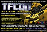 Transformers News: Event Schedule For TFcon 2011