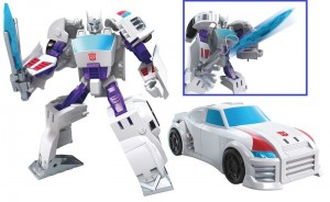 Transformers News: Video Review for Transformers Cyberverse Power of the Spark Swing Slash Drift And Sky Surge Jetfire