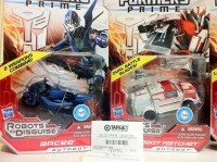 "Transformers News: Transformers Prime ""Robots in Disguise"" Deluxe Ratchet and Arcee Spotted at Retail"