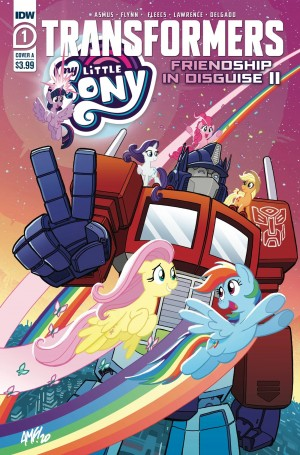 IDW Transformers/ My Little Pony: Friendship in Disguise! Part II Announced