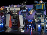 Transformers News: Transtopia Masterclass - Masterpiece Decepticon Diorama