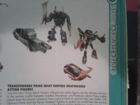 Transformers News: New Transformers Prime Beast Hunters Weaponizer Repaints Revealed