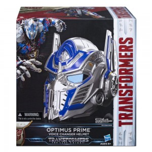 Transformers News: Transformers: The Last Knight Optimus Prime Voice Changer Helmet Spotted in UK Retail