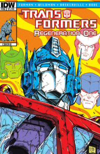 Transformers News: Transformers: Regeneration One #86 Preview