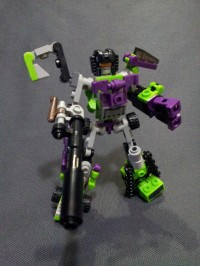 Transformers News: In-Hand Images: Kre-O Transformers Micro Changers Combiners Devastator and Superion