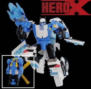 Transformers News: New Image of Million Publishing / Hero-X Exclusive GoShooter