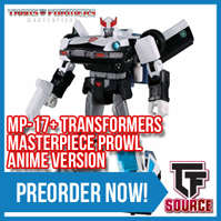 Transformers News: TFSource News! MT Thunder Manus, IF War Giant, AA El Cid, OM Furor / Riot, MP-17+ Anime & More!