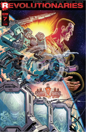 Transformers News: Review of IDW's Hasbro Universe's Revolutionaries #7