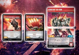 Cavalcade of Card Reveals for the Transformers Card Game With Brunt, Impactor, Astrotrain, Six Gun