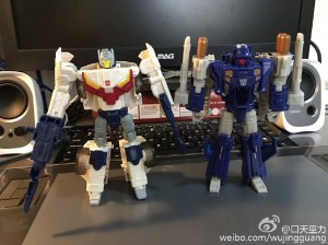 Transformers News: In-Hand Images of Triggerhappy and Getaway from Titans Return Wave 3 Deluxe Case Assortment