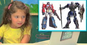 Video - Kids React to Old Transformers Vs. New Transformers