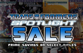 IDW Transformers Spotlight 50% Sale on ComiXology.com