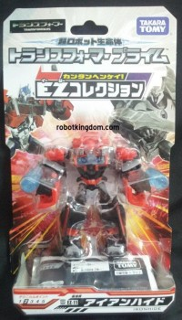 Transformers News: Takara Trasformers Prime EZ Collection EZ-11 EZ-12 In-Package Images and AM-08 Terrorcon Cliffjumper Restock