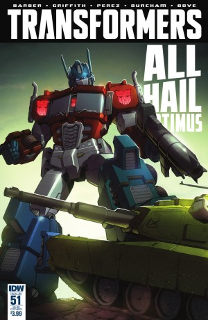 Transformers News: IDW The Transformers #51 Review