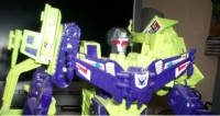 Transformers News: First View of CDMW-01 Devastator Head Packaging and Assembled Look