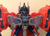 Transformers News: Transformers Prime Cyberverse Optimus Maximus Video Review
