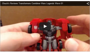 Combiner Wars Legends Wave 01 Video Review