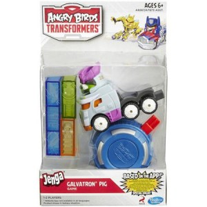 Transformers News: Angry Birds Transformers Jenga Galvatron and Heatwave Packs on Walmart.com