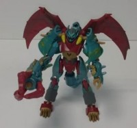 Transformers News: Video Review: Transformers Prime Beast Hunters Deluxe Ripclaw