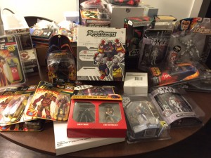 Receptions for Research Cancer Charity Auction: Hasbro SDCC Items from Joe Moscone