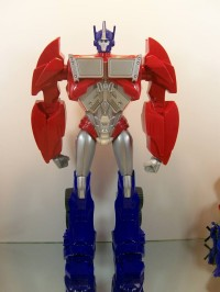 "Transformers News: Transformers Prime 18"" Non-Transforming Optimus Prime Figure"