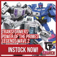Transformers News: TFSource News! PlanetX Apollo / Charon, TW Constructor, FT Apache, PotP Legends W2 & More!