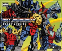 Box Art Revealed for WST Dinorobot Giftset- Comic Edition
