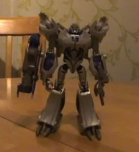 Transformers News: Transformers Prime Voyager Class Megatron Video Review