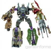 Transformers News: Transformers Fall of Cybertron Vortex, Blast Off, and Bruticus Fully Combined Toy Images