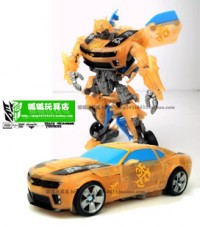 Transformers News: New Images of DOTM  Deluxe Translucent Bumblebee