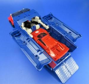 Transformers News: New pictures of Takara Tomy Transformers Adventure TAV 21 Optimus Prime Showcasing Trailer (Updated)