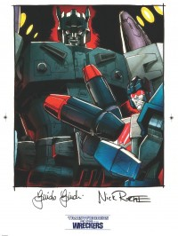 Transformers News: IDW Limited Last Stand of the Wreckers Preorders and Black Label Art