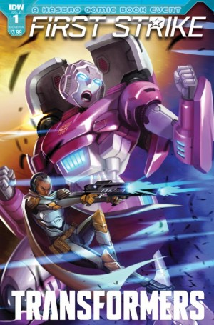 Transformers News: IDW Hasbro Universe First Strike Tie-Ins for October 2017