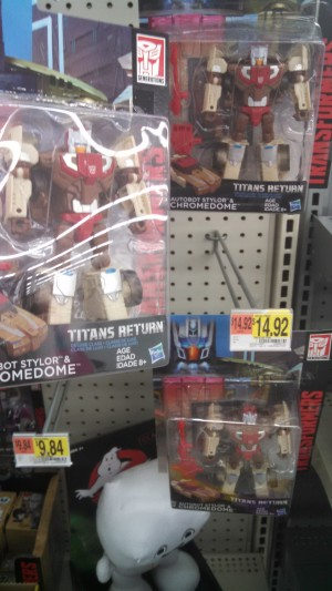 More Transformers Titans Return Chromedome figures Found with Takara Face Sculpts