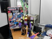 Transformers News: Bic Camera Nagoya Display - Test Shot Encore-23, MP Cassettes, Lucky Draw Arcee In-Package + More