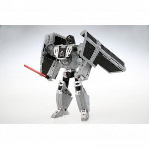 Transformers News: Colour Images of Takara Star Wars Powered By Transformer Crossover Darth Vader