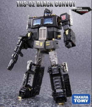Transformers News: THS-02B Black Convoy Image Revealed