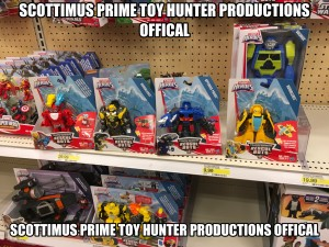Transformers News: New 2017 Transformers: Rescue Bots Bumblebee, Heatwave and Optimus Prime Figures Found at Target