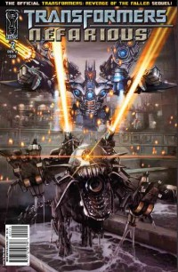 Transformers Comic Review-  Nefarious #2- !Spoilers!