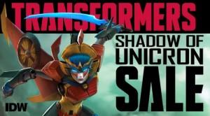 Transformers News: IDW Transformers Comics 'Shadow of Unicron' Sale on ComiXology.com