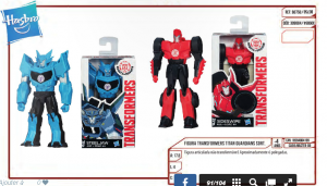 New pictures for 12 inch and 6 inch Robots in Disguise Titan Figures