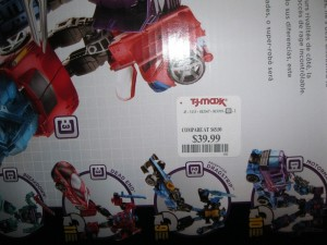 Transformers News: Combiner Wars Boxsets Now Available at TJMaxx