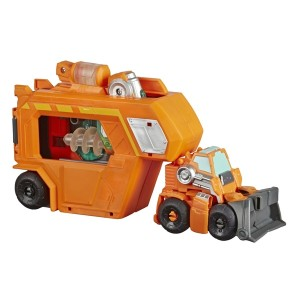 New Transformers: Rescue Bots Hoist and Wedge Playsets Found Online in the U.K.