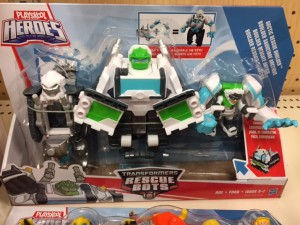 Transformers News: Rescue Bots Arctic Rescue Boulder and Bumblebee Rock Rescue Team Found at Target