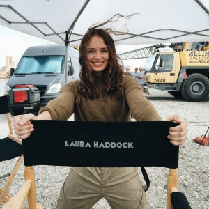 Laura Haddock Arrives on Set of Transformers: The Last Knight, Isabela Moner's 15th Birthday